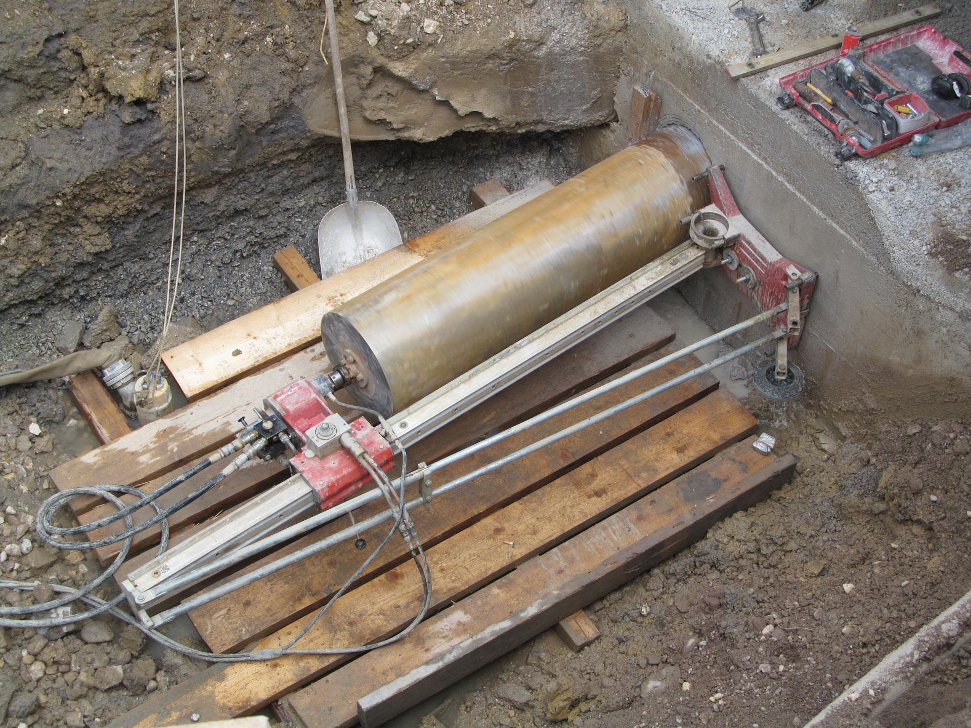 cevno vrtanje betona