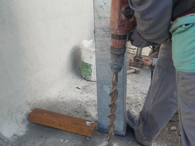 vrtanje betona