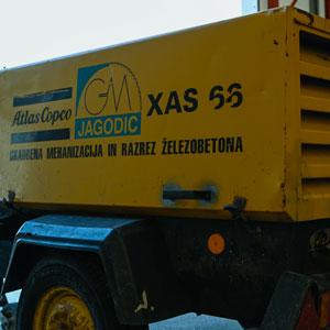 Atlas copco XAS 66