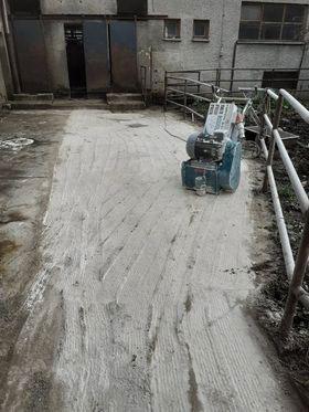 nižanje betonskih površin